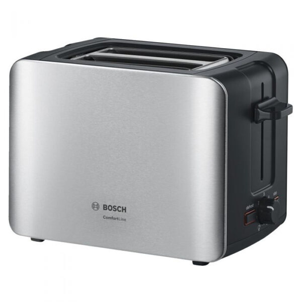 Bosch Comfortline Toaster 2 Slices Stainless Steel - TAT6A913GB