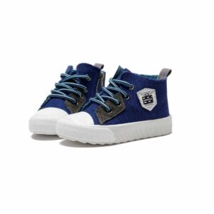 Kid's Canvas Shoes Lacing All-Match Breathable Shoes