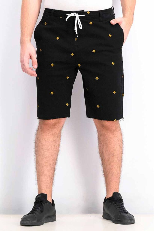 Embroidered Mens Shorts