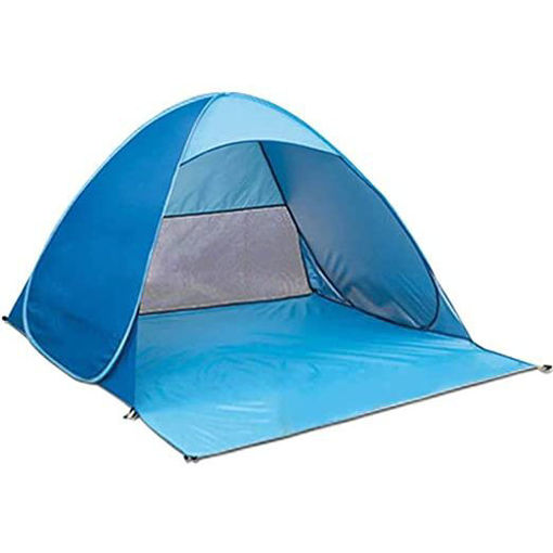 Outdoor Beach Tent Set Double Automatic Pop Up With Bag3