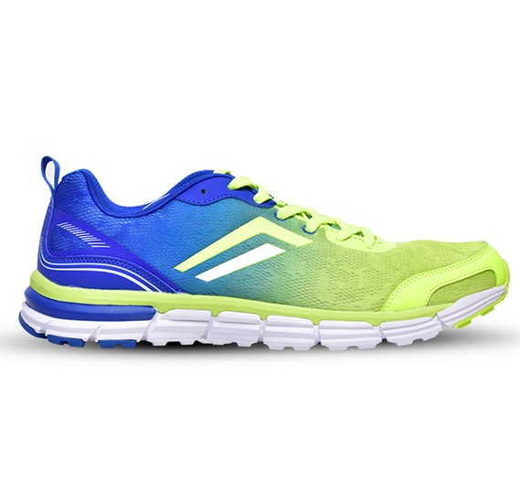 Mens Sports Shoes, Blue and Green