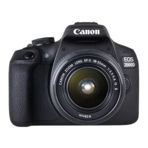 Canon DSLR With Lens,Built,-In Wi-Fi And NFC