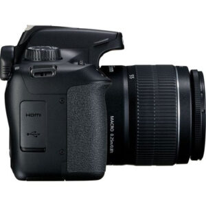 Canon - EOS 4000D DSLR Camera With Lens Kit