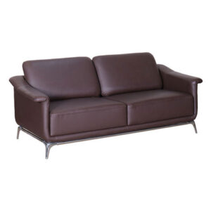 Office 4 Seater Sofa Set, Brown