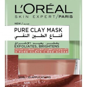 Clay Red Face Mask