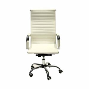 Office Armchair White