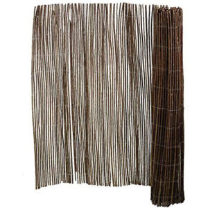 Foldable Room Dividers, Brown