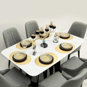 Dining Table with Chair 7 Set