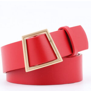 Buckle Without Needle Wide Belt