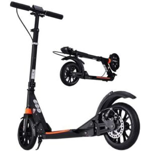 Adjustable Adult Scooter with Shock Absorbers